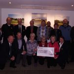 Cheque Presentation from Carnoustie Golf Links